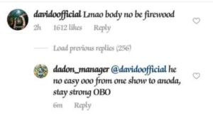 Davido Reacts To Video Of His Ugly Fall On Stage [WATCH]