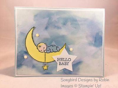 Hello Moon Baby