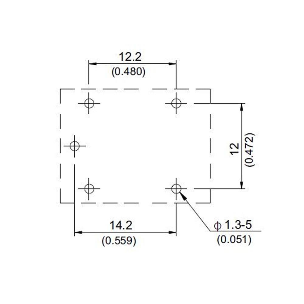 875 Miniature 20A Sugar Cube PCB Relay