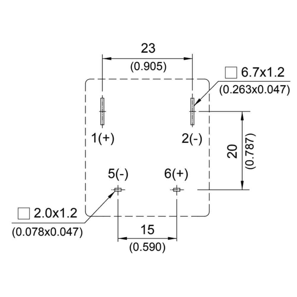 HV015 High DC Voltage 40A, 400 VDC Relay