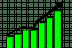 simple chart illustration