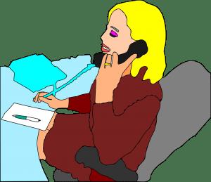 receptionist job
