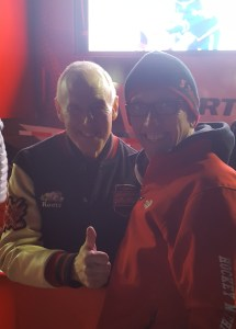 With Ron MacLean at Hometown Hockey