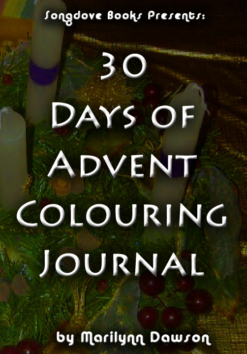 Songdove Books - 30 Days of Advent Colouring Journal