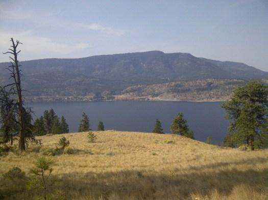 Songdove Books - Okanagan Lake From Knox Mtn