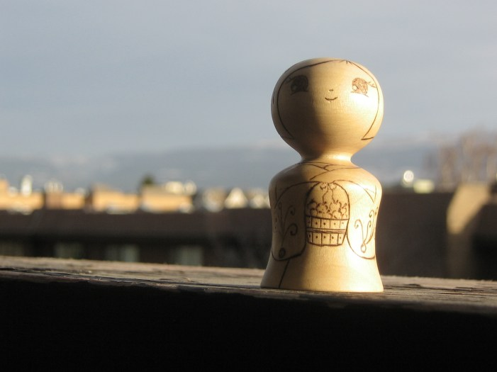 Songdove Books - Kokeshi mini and the world
