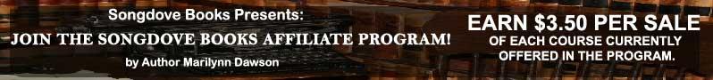 Join the Songdove Books Affiliate Program