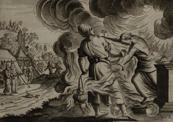 Songdove Books - Death of Nadab and Abihu - Strange Fire