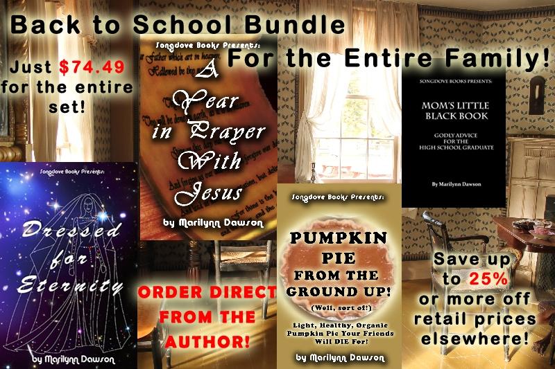Songdove Books: 2015-BACK TO SCHOOL BUNDLE