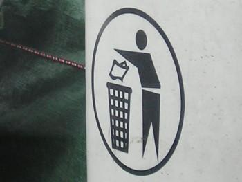 Songdove Books - Put Trash Here