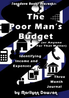 Songdove Books - The Poor Man's Budget - 3-month Journal