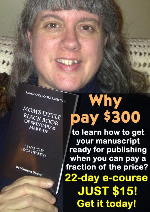 Songdove Books - $15 12-day ecourse