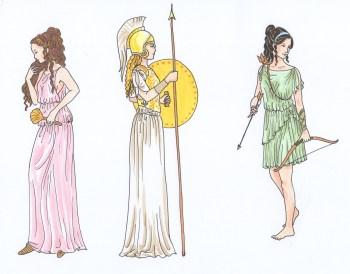 three greek gods