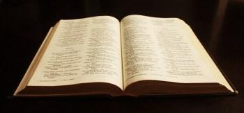 psalm open book