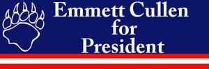 emmett cullen for president