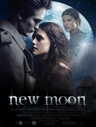 New Moon affiche par des fans
