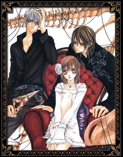 Zero, Yuuki et Kaname