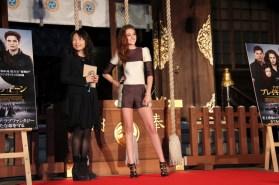 Kristen Stewart Assure La Promo Japonaise De Breaking Dawn Part 2/ Twilight Chap 5