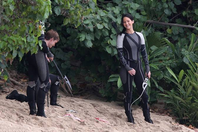 Nouvelles Images Du Tournage De Hunger Games 2: Catching Fire/ L'Embrasement Sur L'Ile De Hawaï