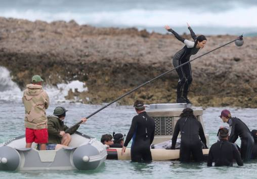 Nouvelles Photos Du Tournage de Hunger Games 2 : Catching Fire / L'Embrasement !