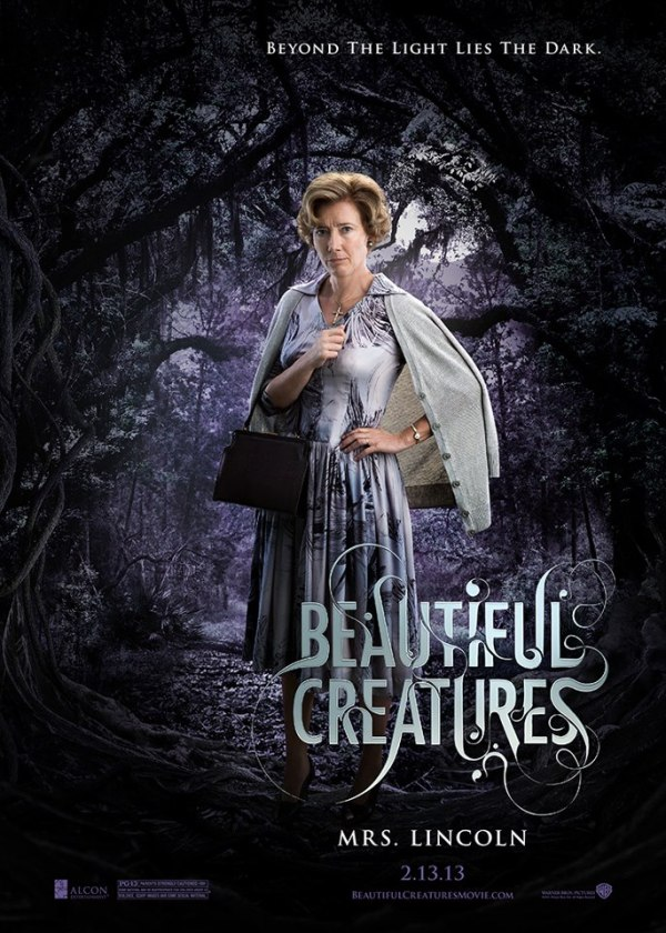 Beautiful Creatures_Mrs Lincoln poster
