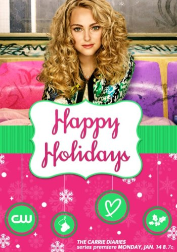 carrie diaries happy holidays