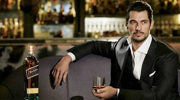 David Gandy, Amabssadeur pour Johnnie Walker