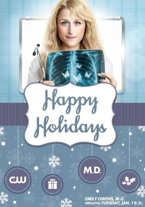 emily owens MD happy holidays