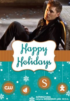 supernatural happy holidays