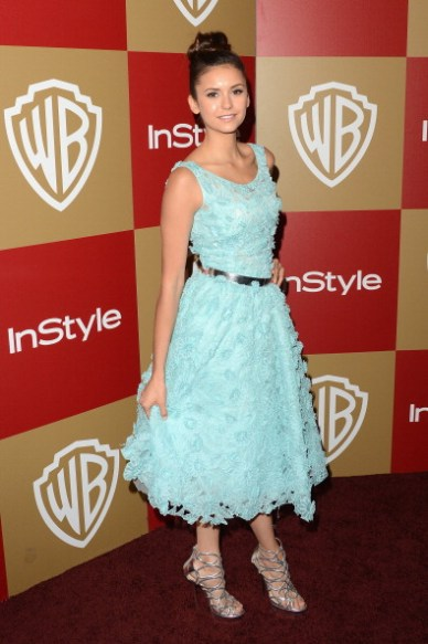 Golden Globe Awards After Party - Arrivée de Nina Dobrev