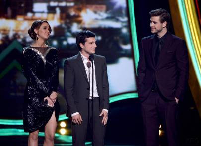 Hunger Games Cast - PCA -2013 -Nominations- 014