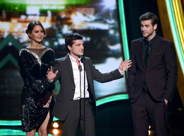 Hunger Games Cast - PCA -2013 -Nominations- 015