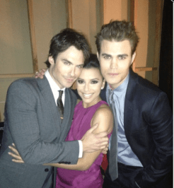 Ian, Eva et Paul - Critics Choice Movie Awards