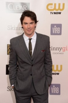 Ian Somerhalder - Critic Choice Movie Awards 2013 - red carpet