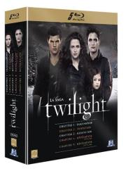 La saga Twilight - Coffret BluRay l'intégrale