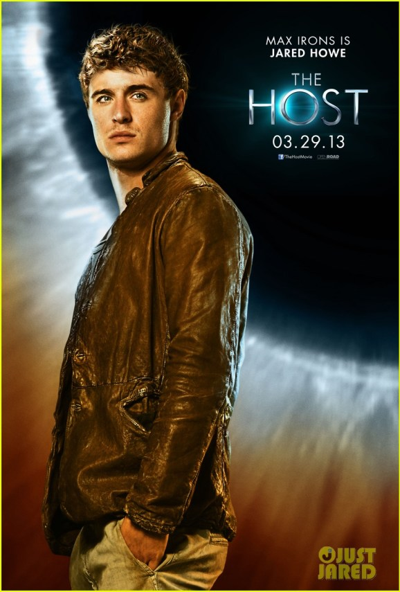 Poster Exclusif de The Host / Les Âmes Vagabonde avec Max Irons (Jared)
