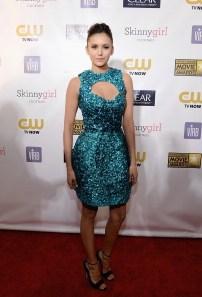 Nina Dobrev - Critic Choice Movie Awards 2013 - red carpet