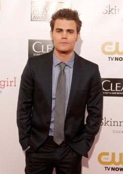 Paul Wesley - Critic Choice Movie Awards 2013 - red carpet