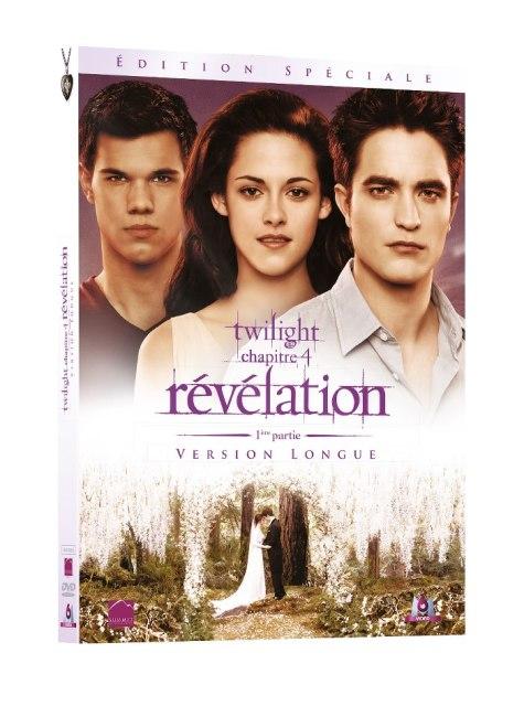 Twilight chapitre 4 Révélation 1ère partie - DVD