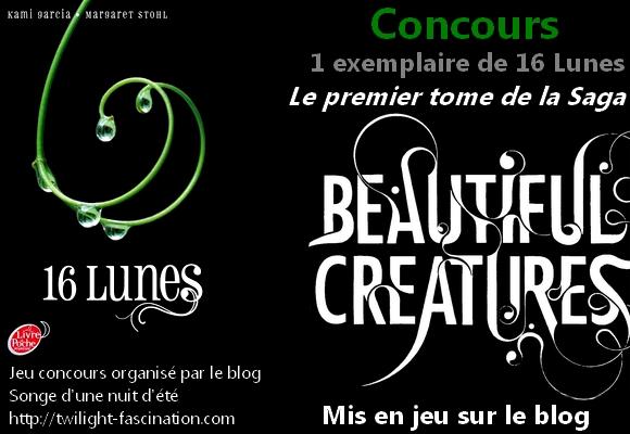 Concours 16 Lunes