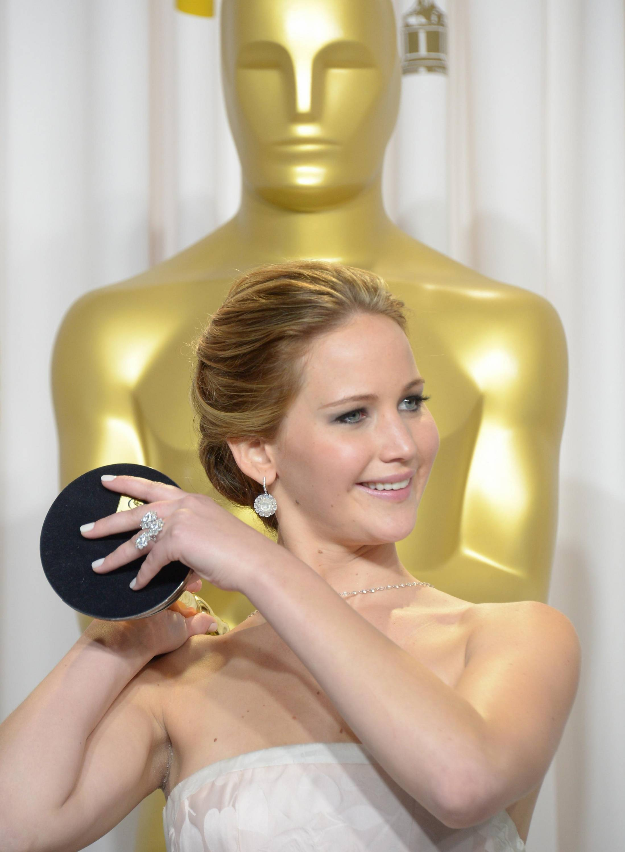 Jennifer Lawrence - L'Après Oscar - La Press Room 001