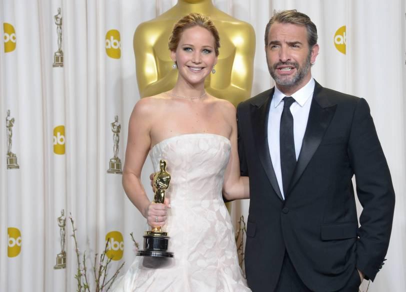 Jennifer Lawrence - L'Après Oscar - La Press Room 004