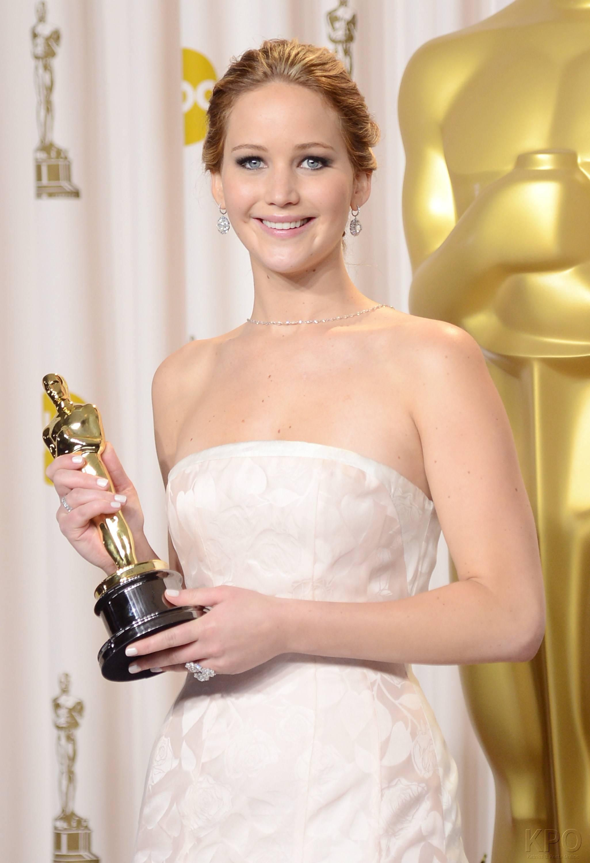 Jennifer Lawrence - L'Après Oscar - La Press Room 009