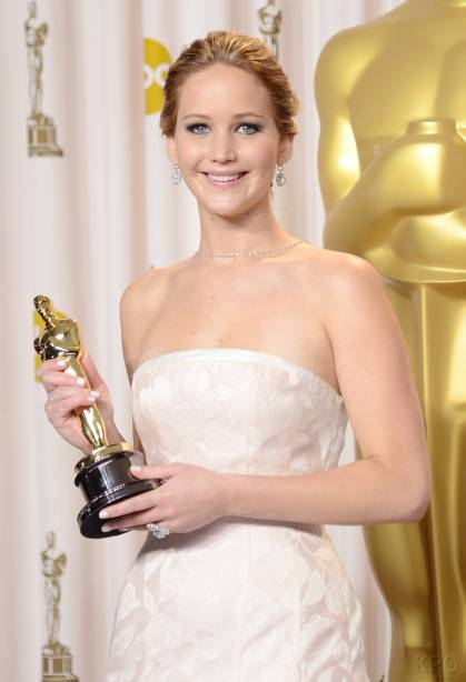 Jennifer Lawrence - L'Après Oscar - La Press Room 009