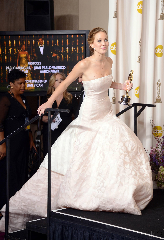 Jennifer Lawrence - L'Après Oscar - La Press Room 021