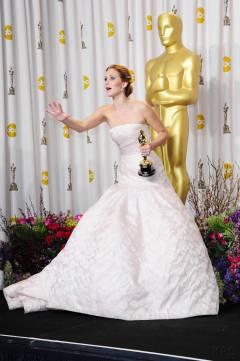 Jennifer Lawrence - L'Après Oscar - La Press Room 026