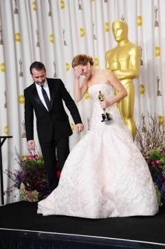 Jennifer Lawrence - L'Après Oscar - La Press Room 027