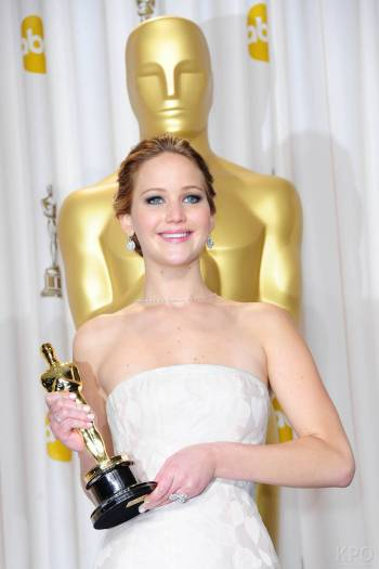 Jennifer Lawrence - L'Après Oscar - La Press Room 032