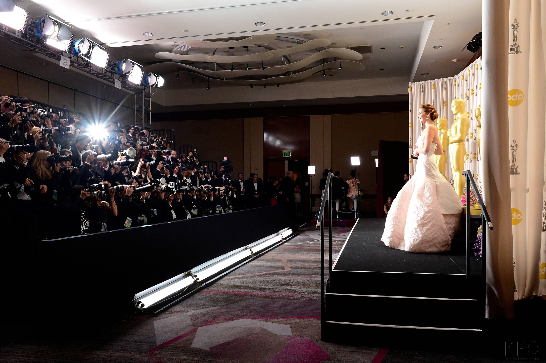 Jennifer Lawrence - L'Après Oscar - La Press Room 034