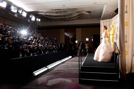 Jennifer Lawrence - L'Après Oscar - La Press Room 034